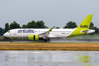 YL-AAY - Air Baltic Airbus A220-300