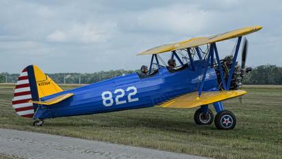 N351AH - Private Boeing Stearman, Kaydet (all models)
