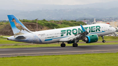 N346FR - Frontier Airlines Airbus A320 NEO