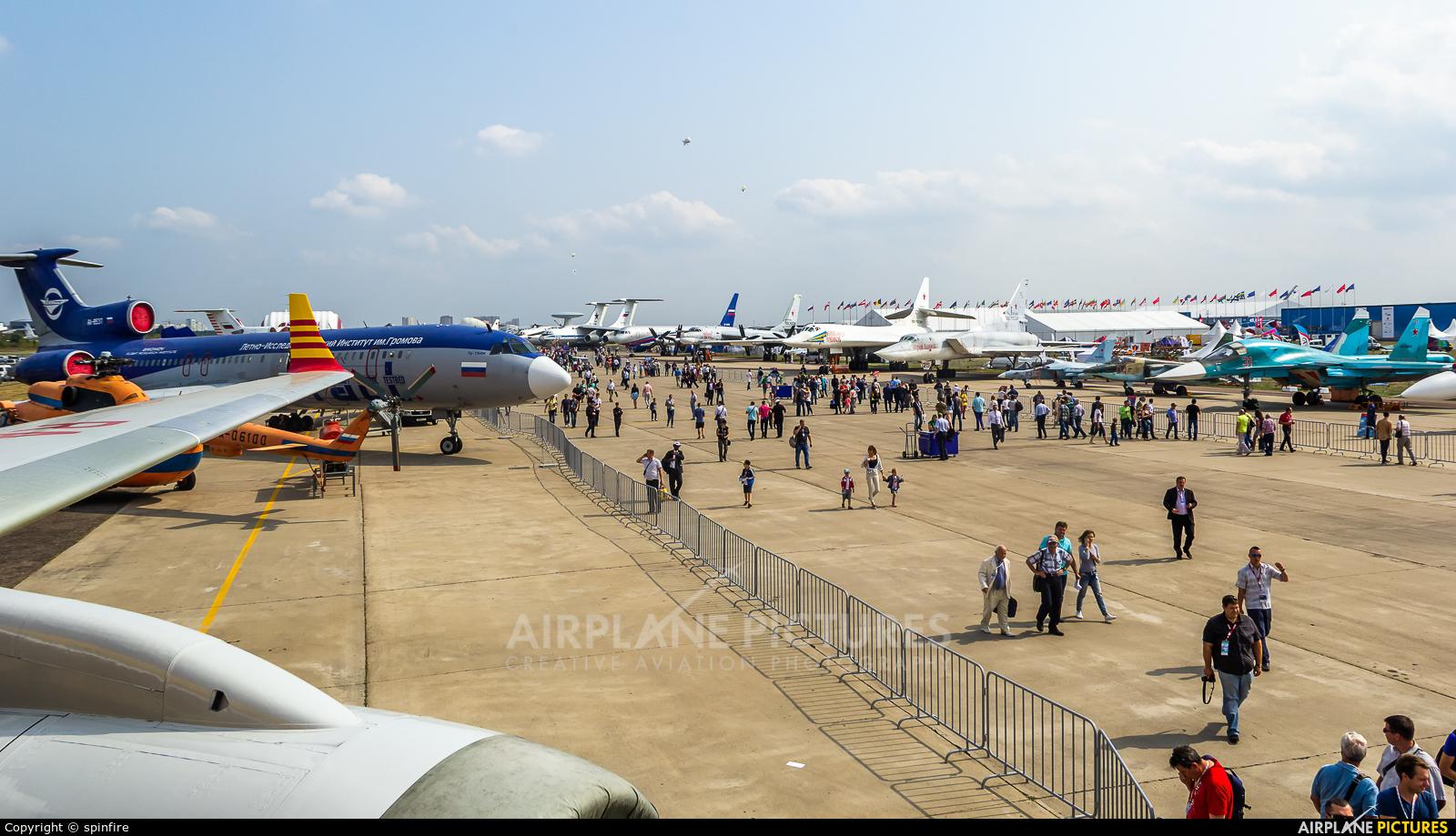 - Airport Overview - aircraft at Ramenskoye - Zhukovsky
