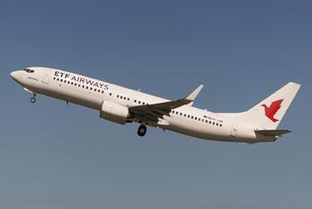 9A-LAB - ETF Airways Boeing 737-8K5