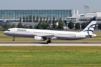 SX-DGS - Aegean Airlines Airbus A321