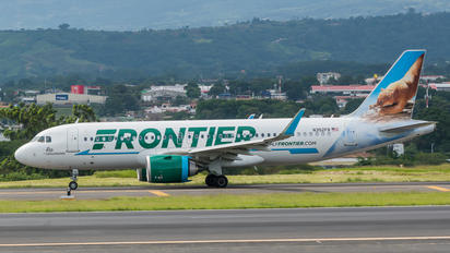 N352FR - Frontier Airlines Airbus A320 NEO