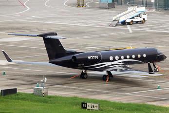 N1777U - Private Gulfstream Aerospace G-V, G-V-SP, G500, G550