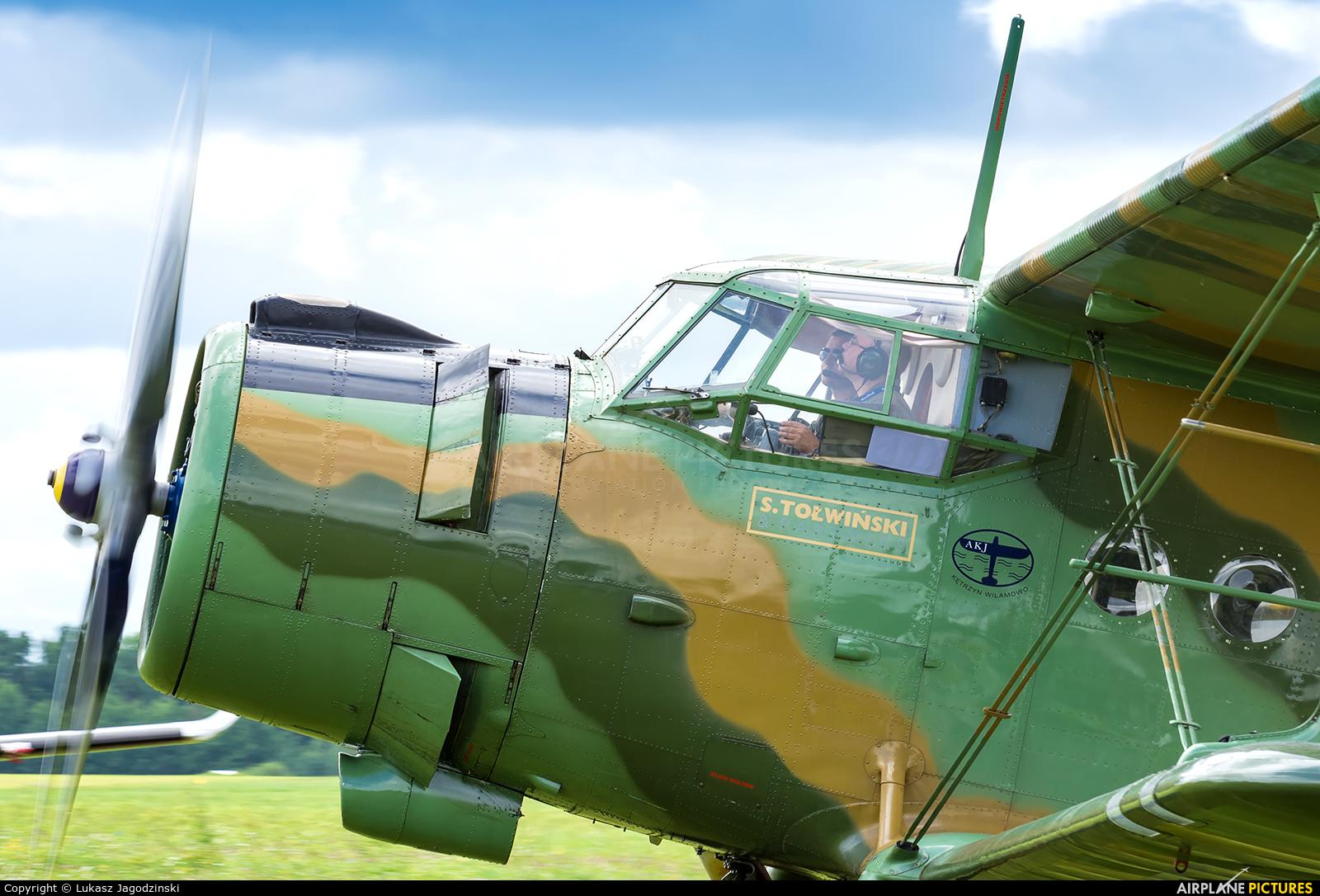 Private SP-KTS aircraft at Kętrzyn - Wilamowo