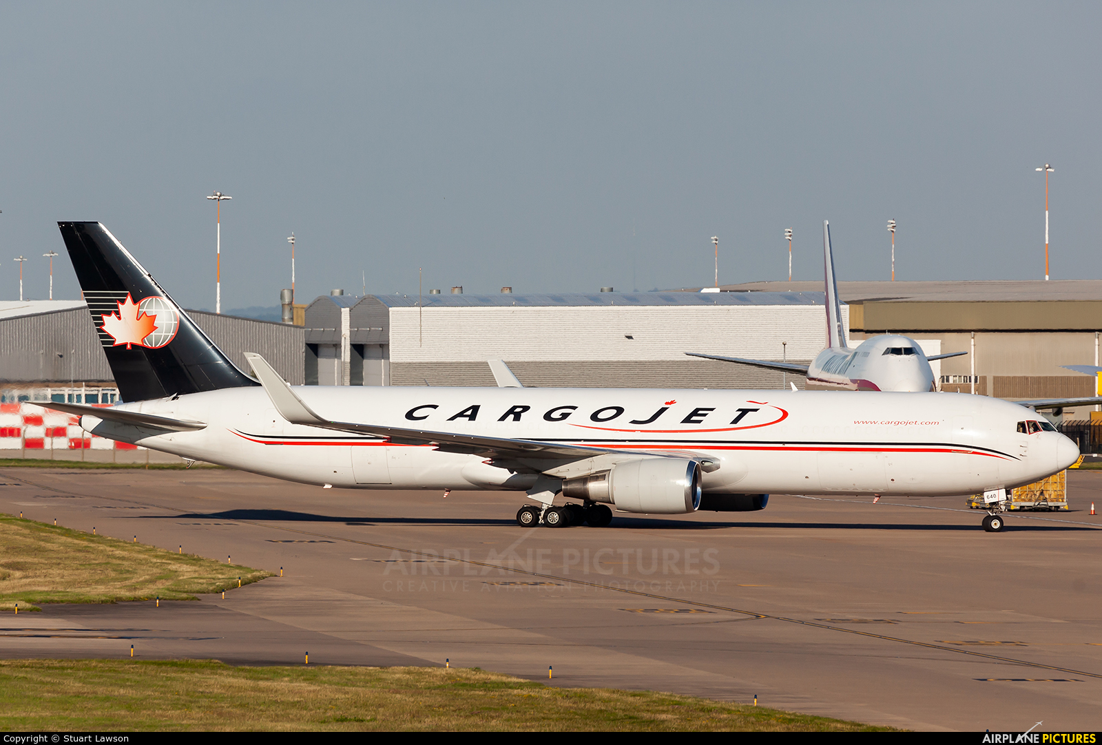Cargojet Airways C-FCCJ aircraft at East Midlands