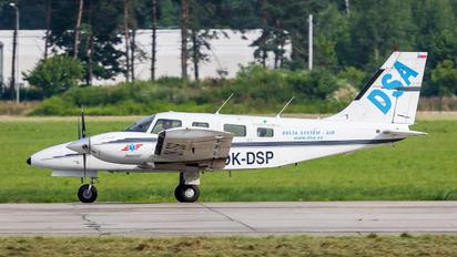 OK-DSP - DSA - Delta System Air Piper PA-34 Seneca