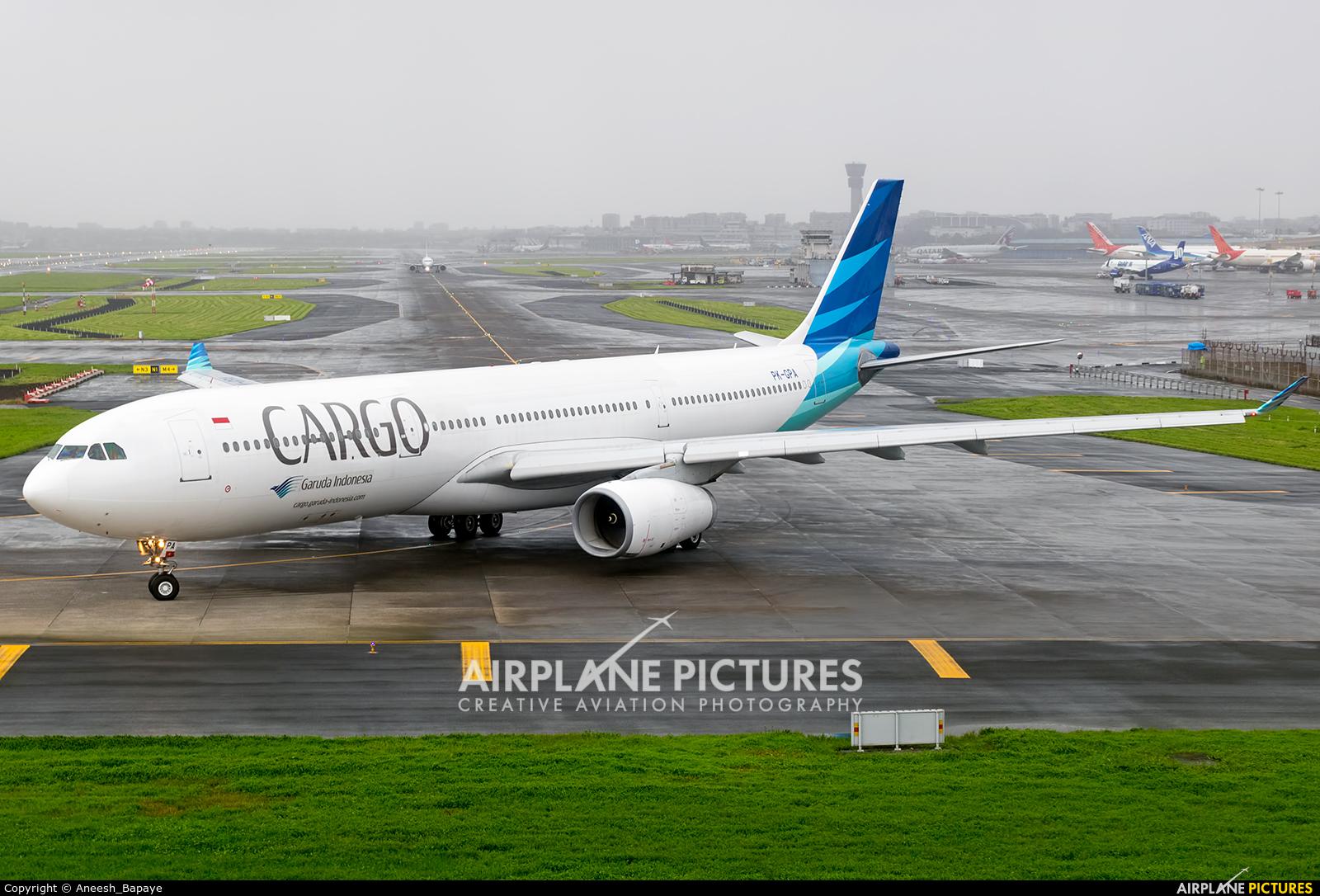 Garuda Indonesia PK-GPA aircraft at Mumbai - Chhatrapati Shivaji Intl