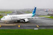 Garuda Indonesia A330 visited Mumbai within cargo flight title=