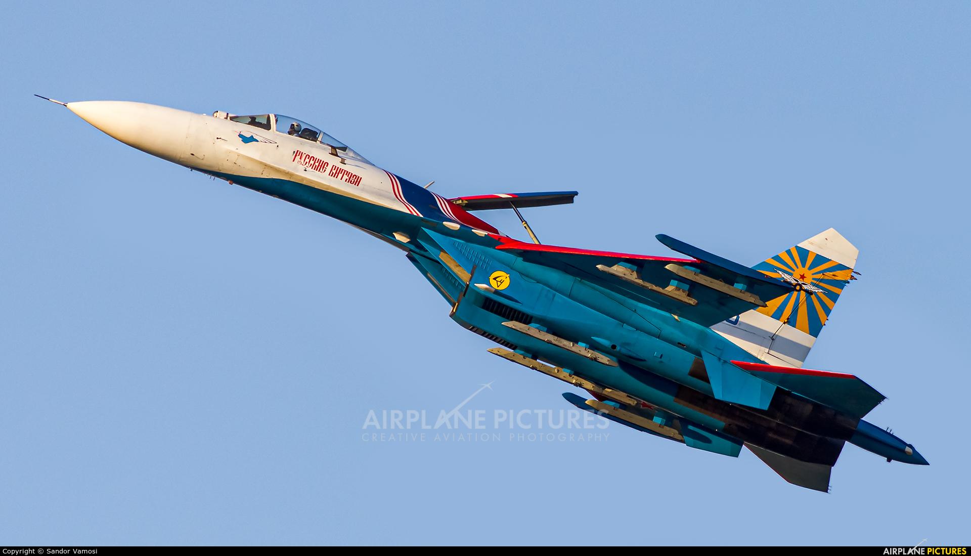 """Russia - Air Force """"Russian Knights"""" 08 aircraft at Kecskemét"""