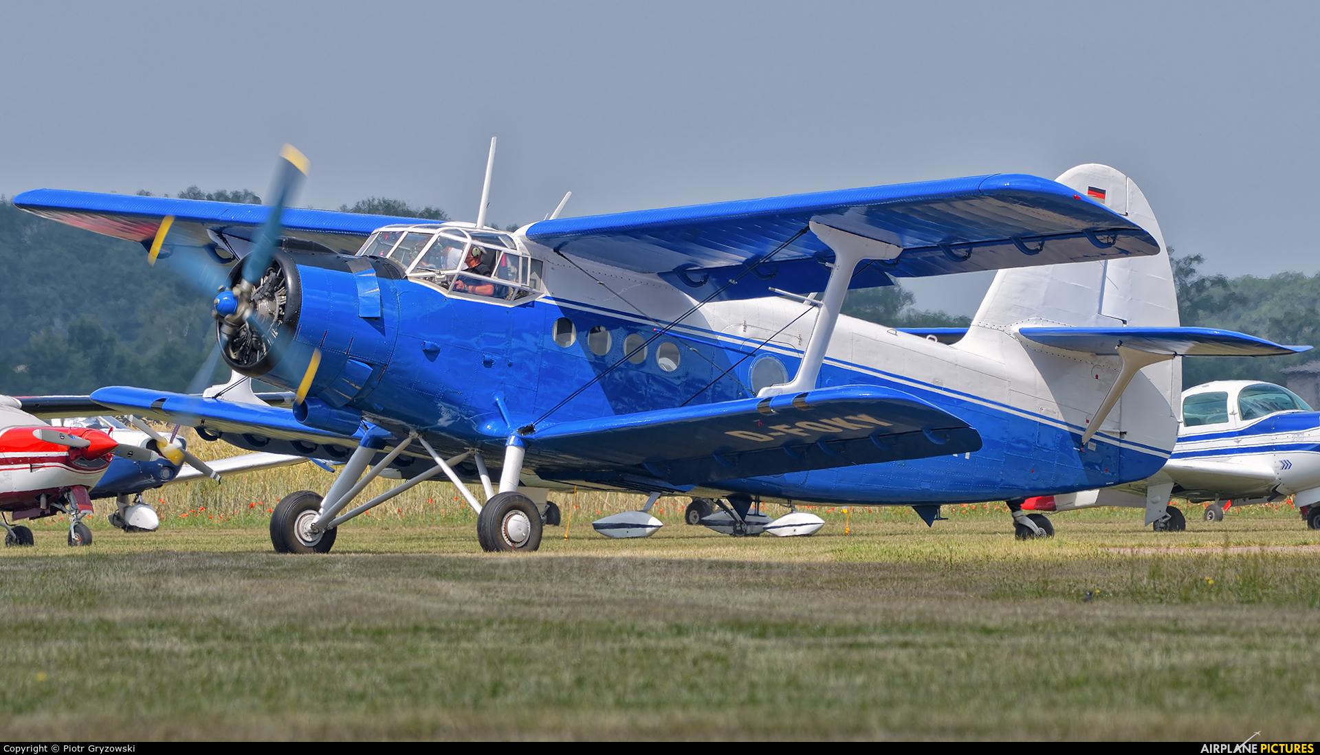 Private D-FOKY aircraft at Bienenfarm