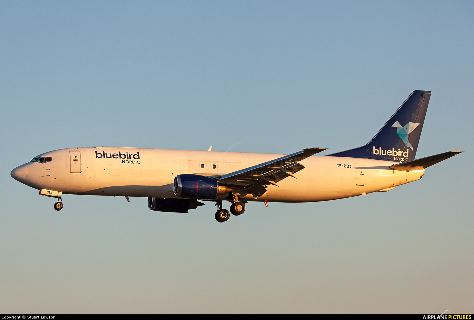 Bluebird Cargo TF-BBJ aircraft at East Midlands