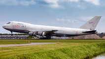 GeoSky Boeing 747-200F visited Amsterdam title=