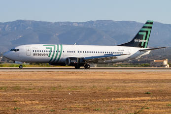 OY-ASB - Airseven Boeing 737-400