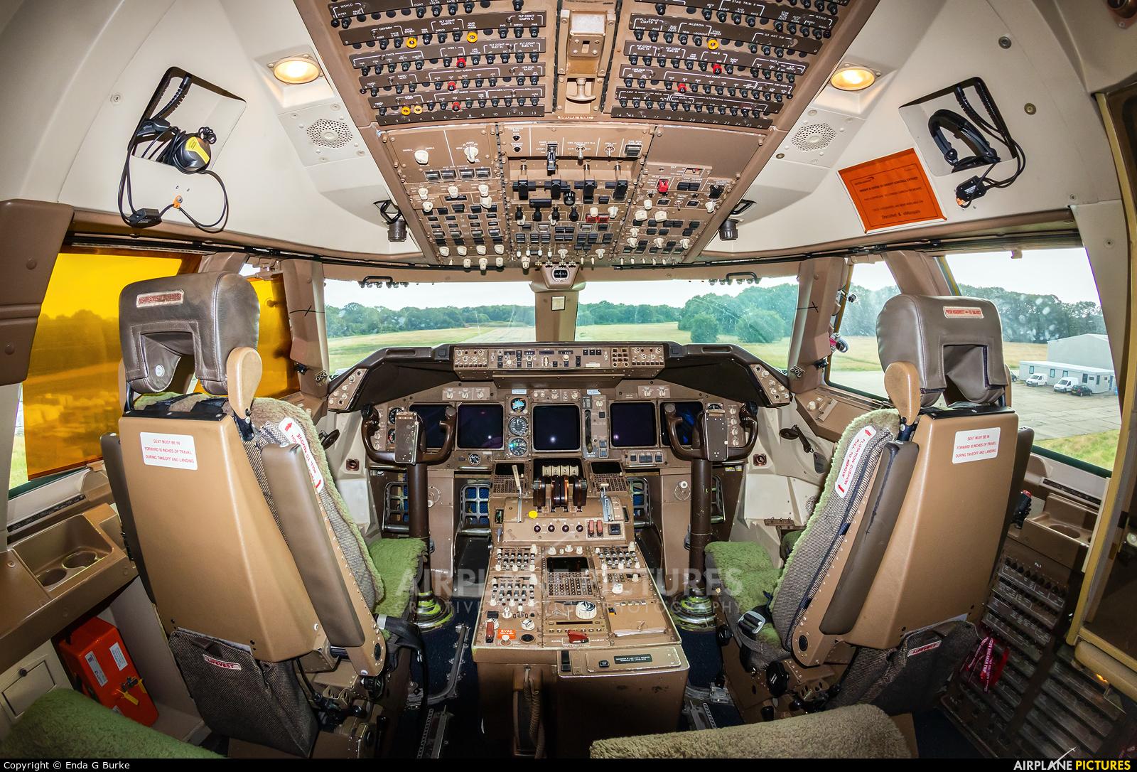British Airways G-BNLY aircraft at Dunsfold