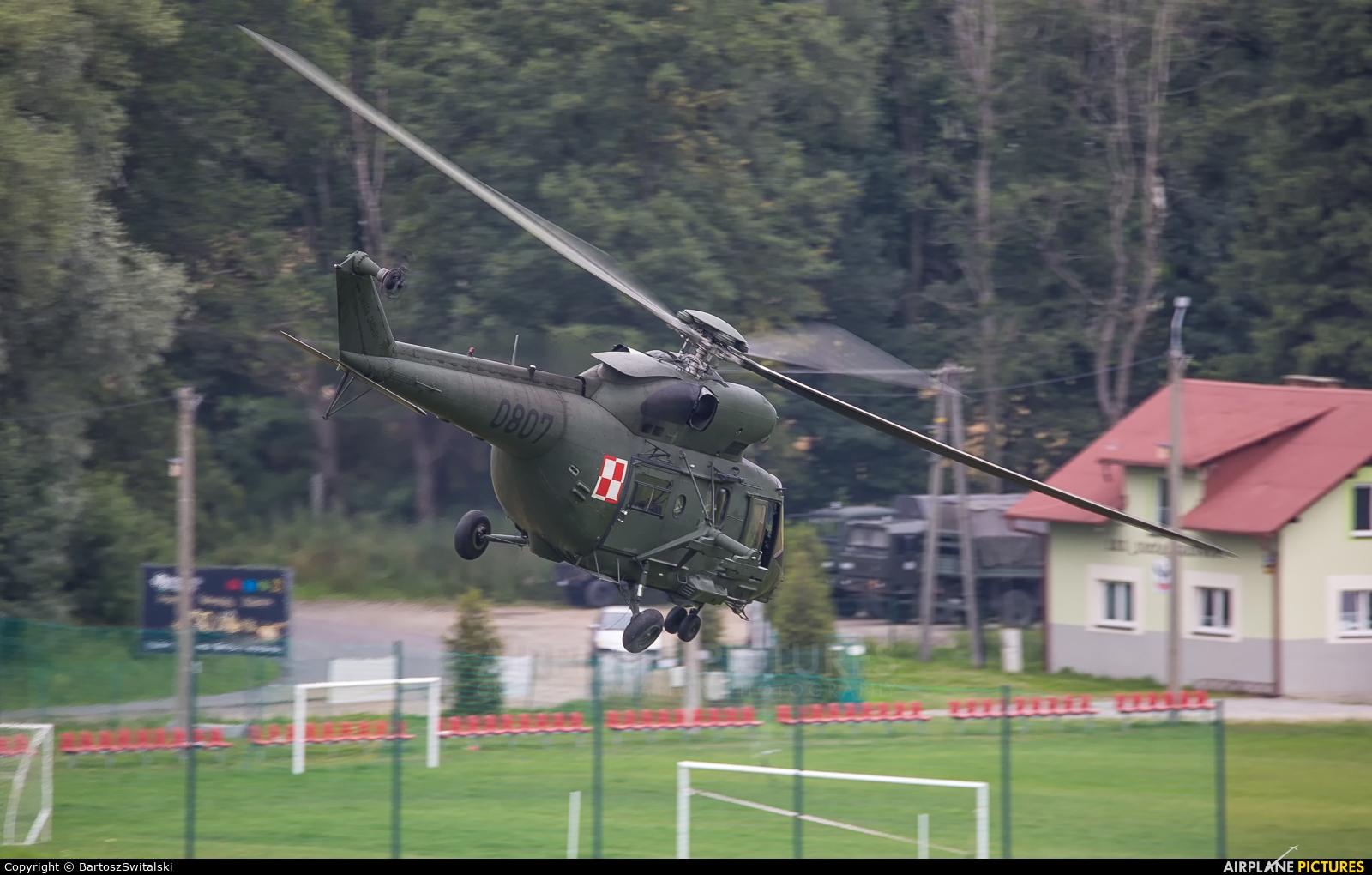 Poland - Army 0807 aircraft at Off Airport - Poland