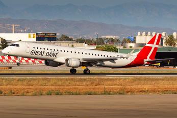 OY-GDC - Great Dane Airlines Embraer ERJ-195 (190-200)