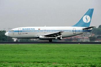 OO-SDL - Sabena Boeing 737-200