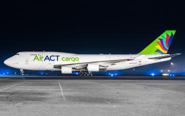 TC-ACG - ACT Cargo Boeing 747-400BCF, SF, BDSF