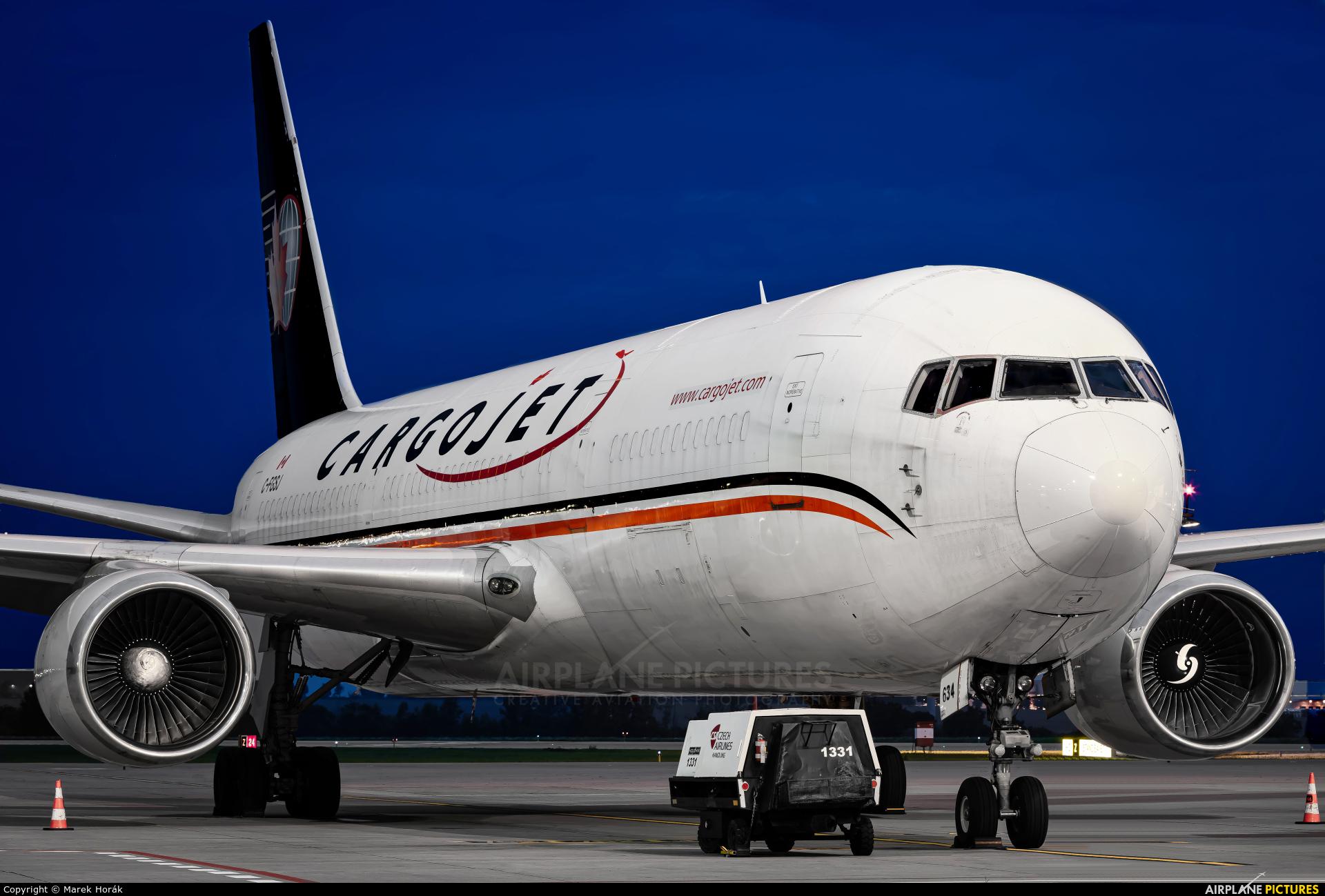 Cargojet Airways C-FGSJ aircraft at Prague - Václav Havel