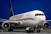Cargojet Boeing 767F visited Prague title=
