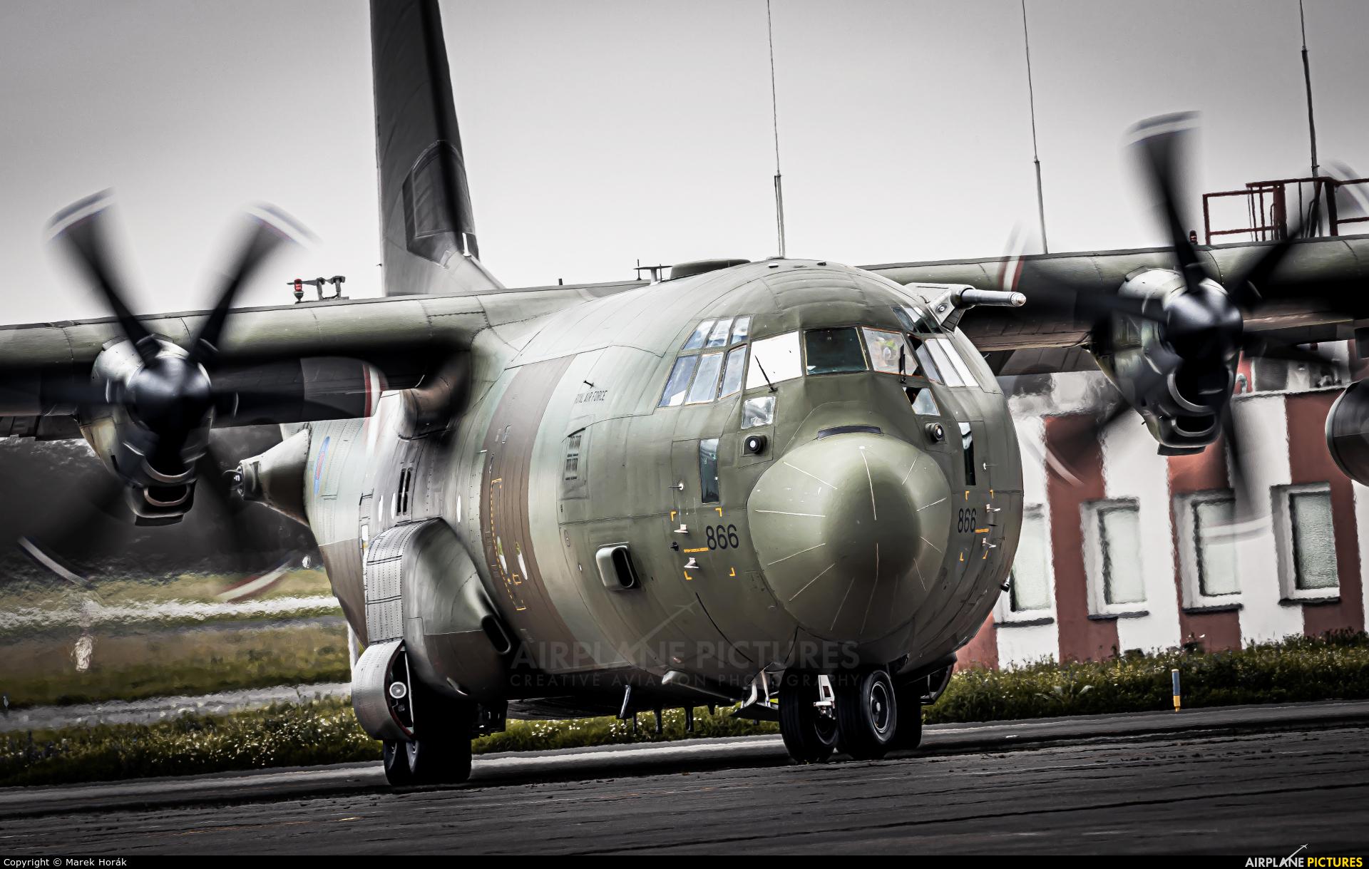 Royal Air Force ZH886 aircraft at Prague - Václav Havel