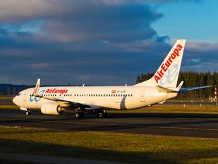 EC-LXV - Air Europa Boeing 737-800