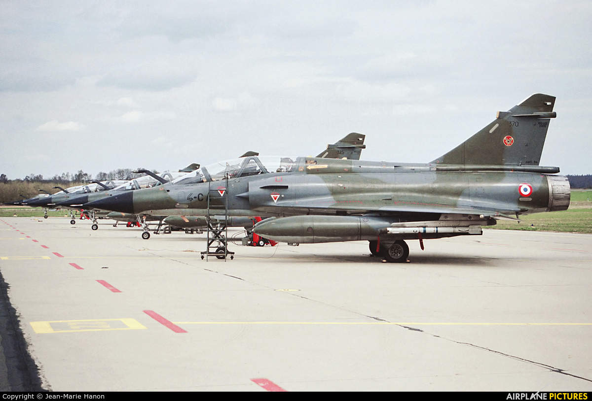 France - Air Force 370 aircraft at Florennes
