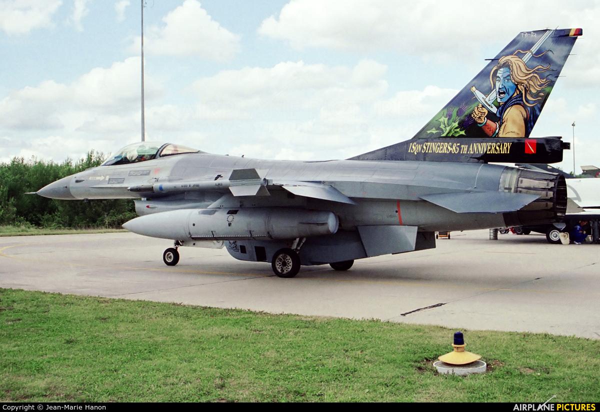 Belgium - Air Force FA-112 aircraft at Florennes