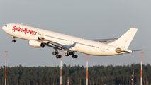 SpiceExpress A340 visited Helsinki title=