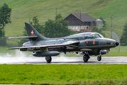 HB-RVR - Amici dell'Hunter Hawker Hunter T.68 aircraft