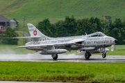 HB-RVS - Hunterverein Obersimmenthal Hawker Hunter F.58 aircraft