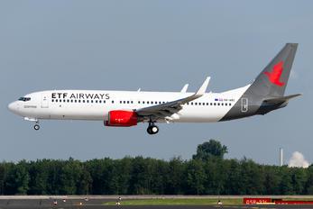 9A-ABC - ETF Airways Boeing 737-8JP(WL)