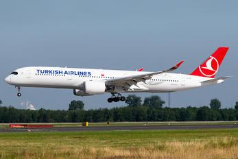 TC-LGA - Turkish Airlines Airbus A350-900