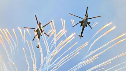 """- - Russia - Air Force """"Berkuts"""" Mil Mi-28"""