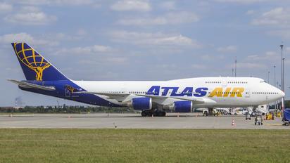 N464MC - Atlas Air Boeing 747-400