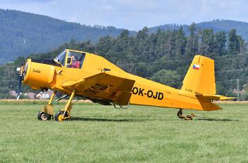 OK-OJD - Agroair Zlín Aircraft Z-37A Čmelák