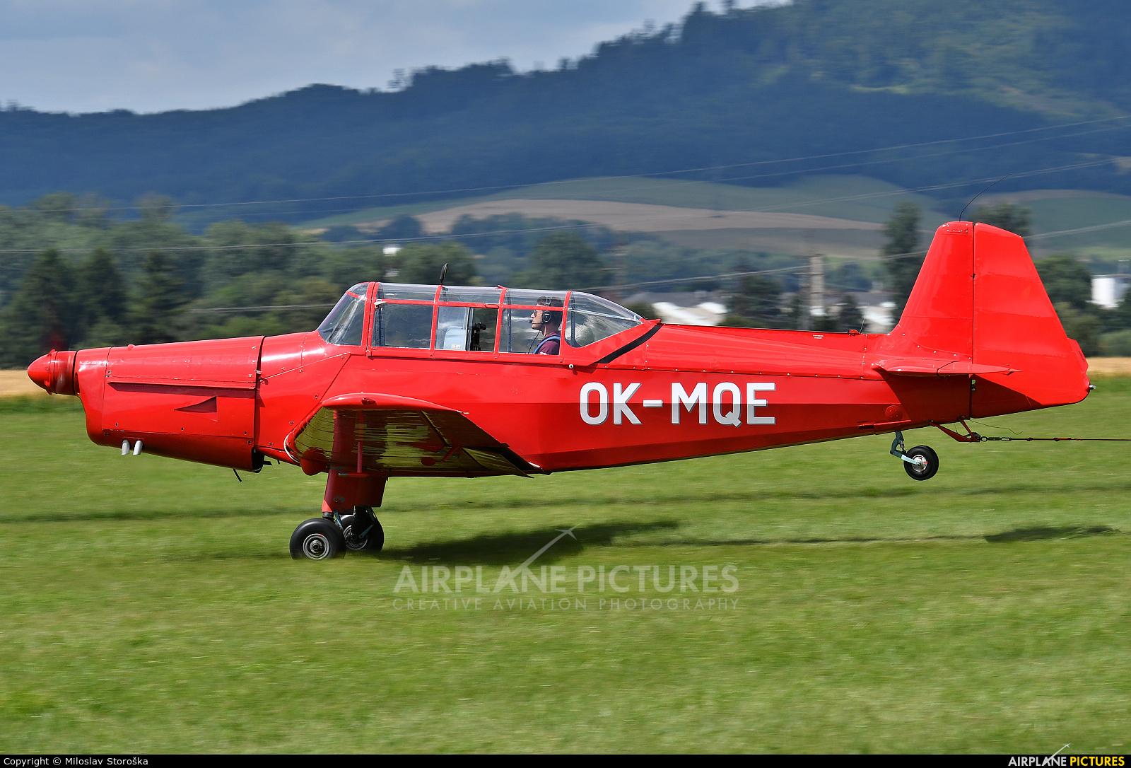 Aeroklub Chrudim OK-MQE aircraft at Šumperk