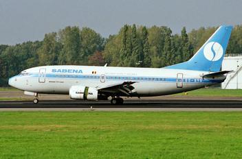 OO-SYG - Sabena Boeing 737-500