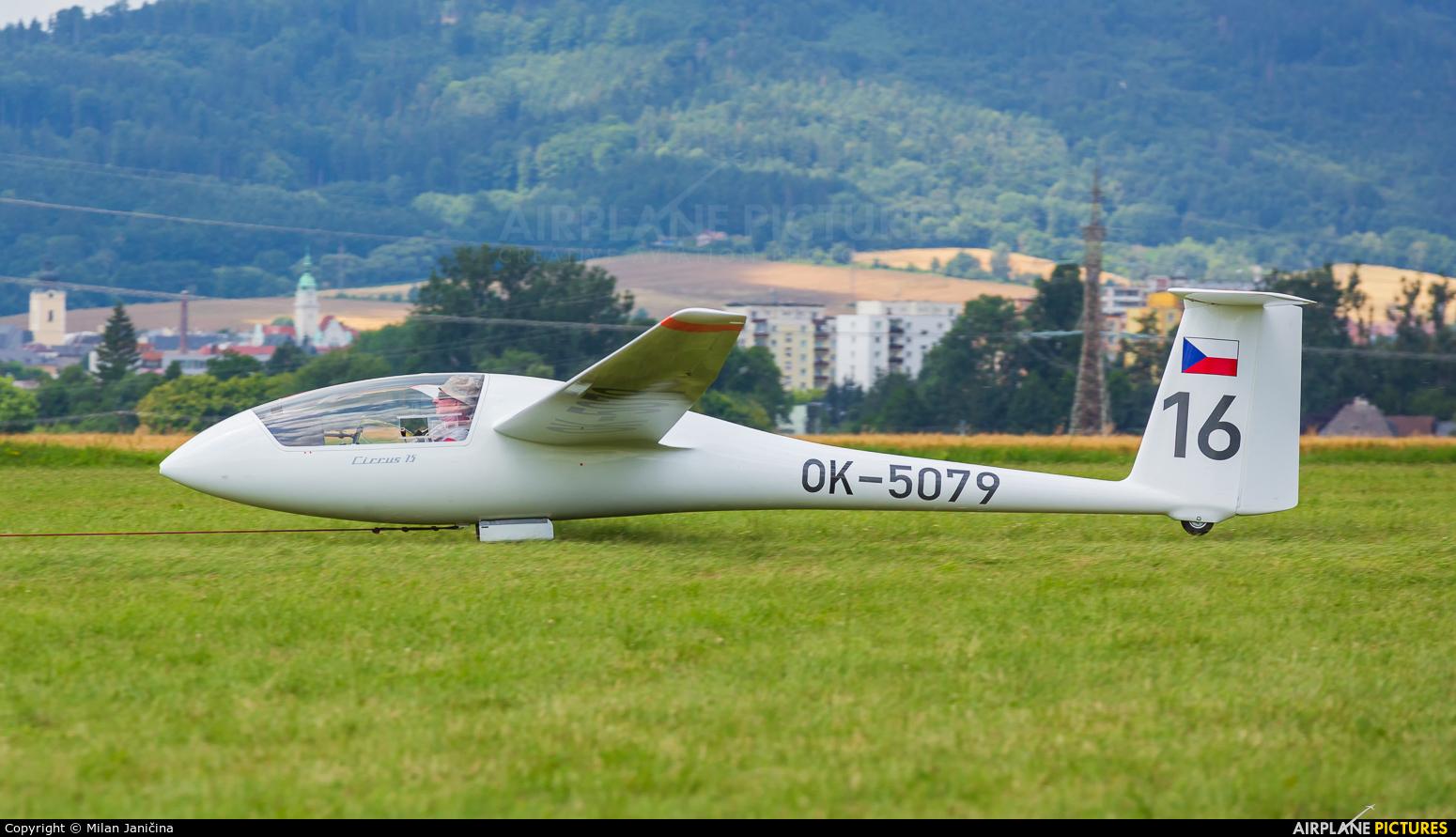 Privajet OK-5079 aircraft at Šumperk