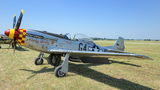 The Flying Bulls North American P-51D Mustang F-AZSB at Leszno - Strzyżewice airport