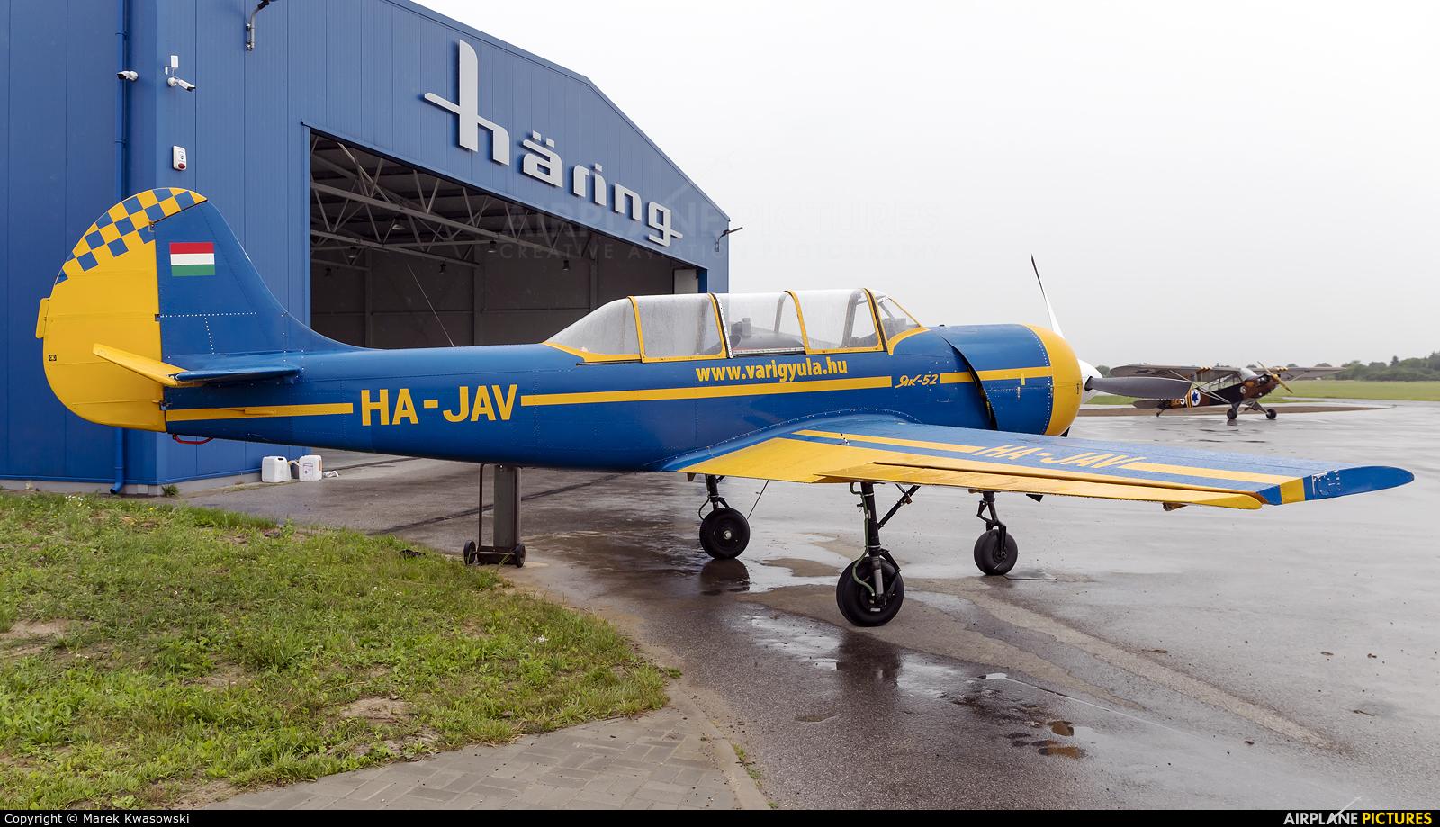 Private HA-JAV aircraft at Piotrków Trybunalski