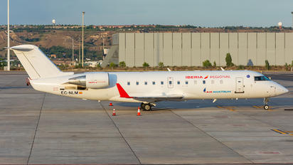 EC-NLM - Air Nostrum - Iberia Regional Bombardier CRJ-200ER