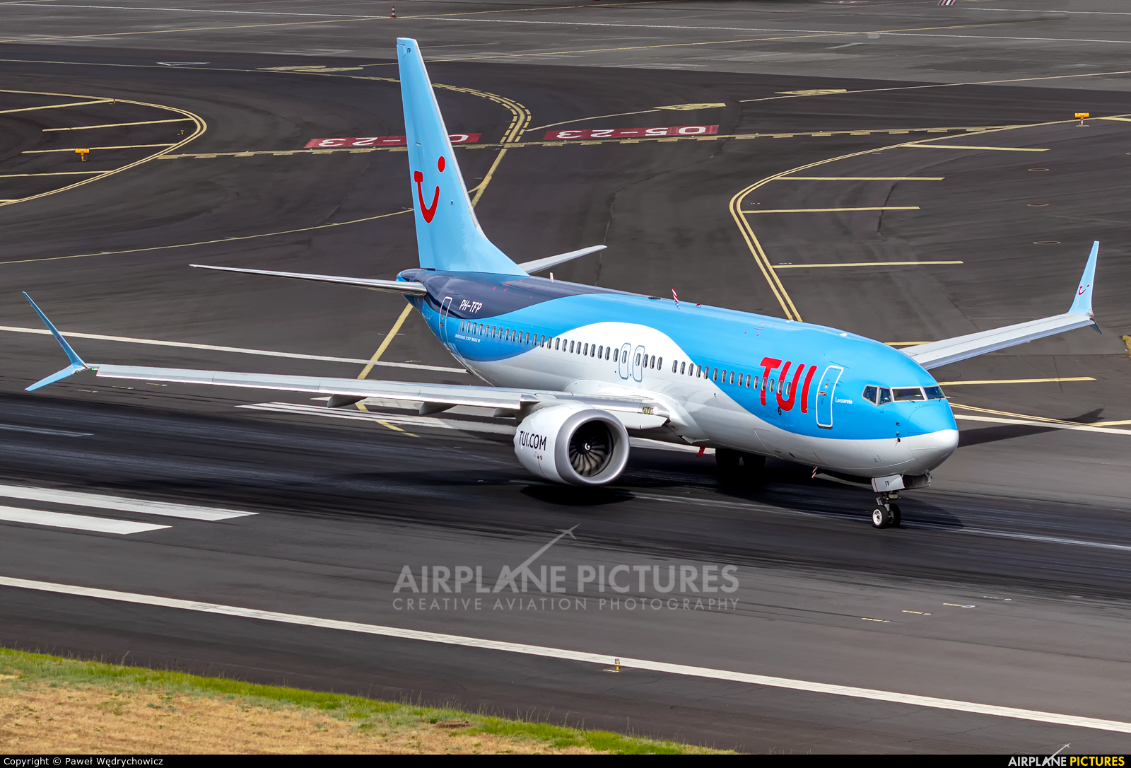 TUI Airlines Netherlands PH-TFP aircraft at Madeira