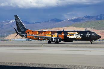 N492AS - Alaska Airlines Boeing 737-900ER