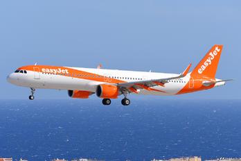 G-UZMJ - easyJet Airbus A321 NEO