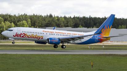 G-JZBE - Jet2 Boeing 737-8MG