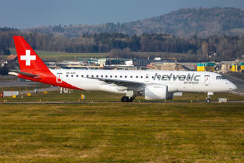 HB-AZA - Helvetic Airways Embraer ERJ-190-E2