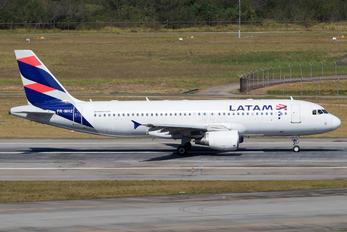 PR-MHZ - TAM Airbus A320