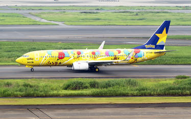 JA73AB - Skymark Airlines Boeing 737-800